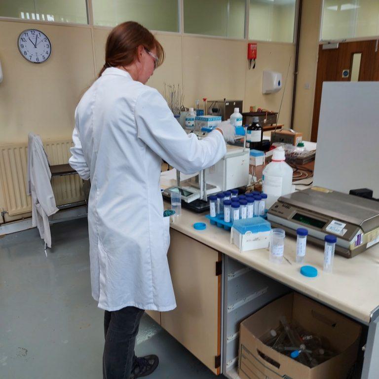 Technician in the Lab